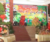 Đoàn TN-Hội Phụ nữ tổ chức đêm rằm trung thu cho con em CBCS CAT